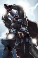 The Mighty Thor - colors by PatC-14