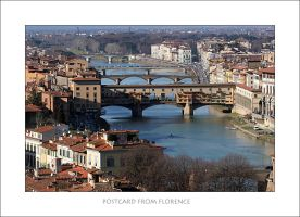 Postcard from Florence by br3w0k