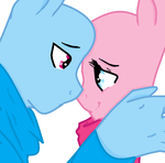 MLP - I...I Love You! ~Base Couple by RainbowPantherBases