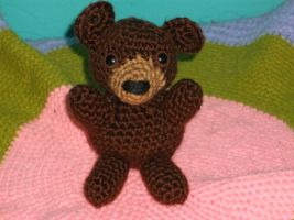 Crochet Teddy Bear by ShadowOrder7