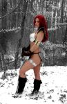 Red Sonja snow by AlisaKiss