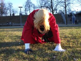 Edward Elric /my watch is falling down/ by chinoLOVElric