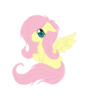 Little Fluttershy by LauMizu