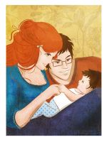 Mother's eyes by LilyRedHaired