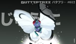 012-Butterfree by gillpanda