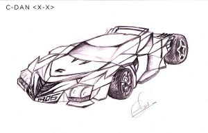 Car Sketch after years by cdan007