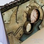 Steampunk Notebook Metal Fantasy 5 by Diarment