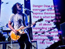 Ray Toro Quote by TheHoodedSilhouette
