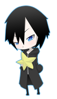 .:chibi Xion:. by DarkHatBoy