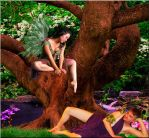 A Fairie's Longing by VisualPoetress