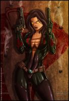 Baroness - G.I.Joe by diabolumberto