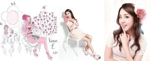 Dara for Etude House by snowflakeVIP