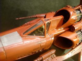Viper Mk1-Scarlet Class-close by Roguewing
