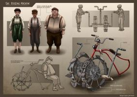 Sewer Boys - Tunnel Digger by Clotaire