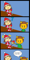 ACNL: A rude way to save someone's life by Duskus