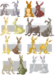 Watership Down charas part4 by shuvuuia