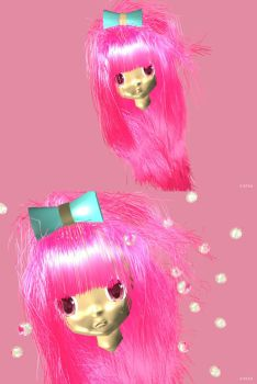 Baby Louise 3D and Pink by cheyika