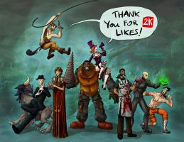 Thank you for 2K likes! by Sinsitra