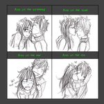 Kissing Meme- Jadekat by Nurbzwax