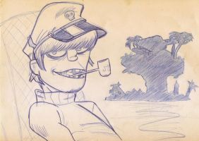 Captain Murdoc Niccals by Angemonia