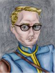 Vault Dweller (Finished Drawing) by Oswulf