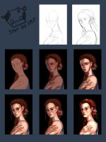Portrait Step by Step by sushi-master901
