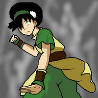 ATLA: Toph Pwns by SuperSilkie