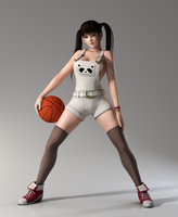 Lei Fang 3DS Render 27 by x2gon