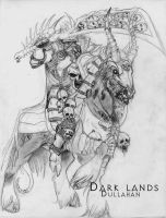 Dark Lands-Dullahan by WhiteFenrril