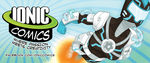Ionic Comics 2013 Banner by annieawesomesauce