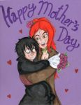 Ferona to Ferret Happy Mother's Day by Tin-foiL