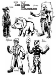The Nova Bloodline - Concepts by TariToons