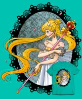 .princess serenity t-shirt design contest by mimiclothing