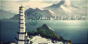 The Air Temple Island by laforeze