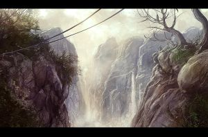 The Falls by merl1ncz