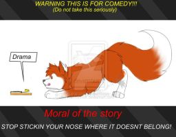 Moral Of The Story by KiaTheWolf