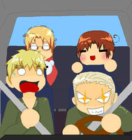 APH Germany At The Wheel by AnEmberMoon