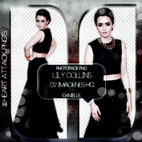 Pack Png Lily Collins by dannyphotopacks
