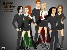 Hogwart Couples v2 by Skyred8604