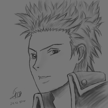 Anime Male Character by ggeorgiev92