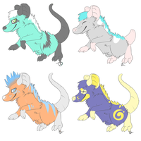 Opossum adopts! by Lodidah
