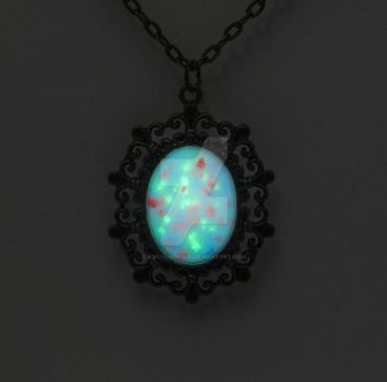 Mages Jewel Necklace by ArchandSoul