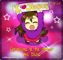 I love Jesus by AngelLinx3