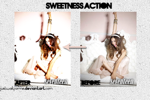 Sweetness action by justwaitforme