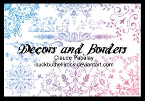decors and borders brushes by isuckbuthellirock