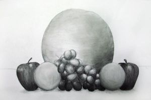 Drawing 1 - Fruits by Kageyoshi07