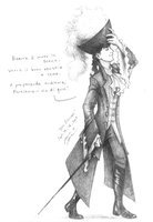 Don Giovanni - sketch by squonkhunter