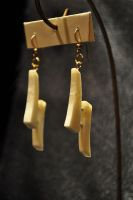 Ivory earrings by tomkush
