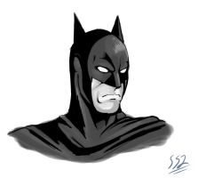 Batman by ss2sonic