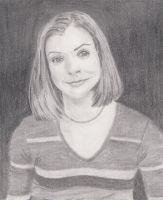 Alyson Hannigan sketch by craftymama2